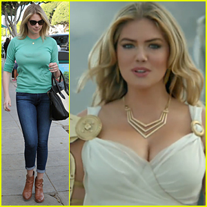 Kate Upton is a Hot Goddess in 'Game of War' Commercial - Watch Now!