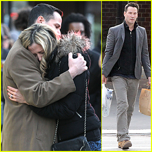 Keanu Reeves Comforts Crying Mira Sorvino in Emotional 'Daughter of God' Scene