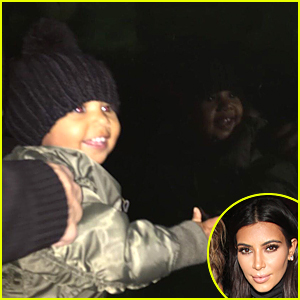 Kim Kardashian's Daughter North West Looks So Happy at the Zoo!