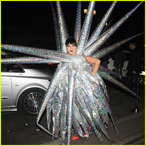 Lady Gaga is the Shiniest Star You'll Ever See in Paris!