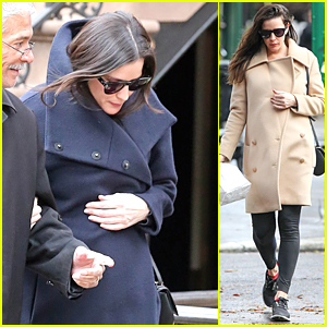 Pregnant Liv Tyler Covers Up Her Baby Bump in Two Chic Coats
