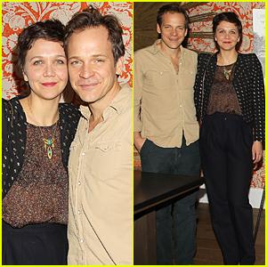 Maggie Gyllenhaal & Peter Sarsgaard Get Cozy at 'IDA' Screening
