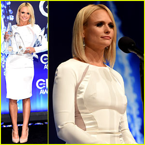 Miranda Lambert Shines with Her Four CMA Awards Trophies!