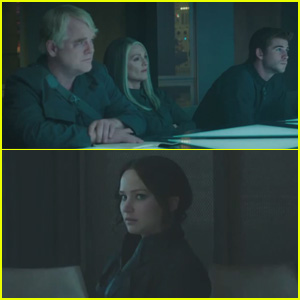 Philip Seymour Hoffman Appears in Brand New 'Hunger Games: Mockingjay' Clip - Watch Now!