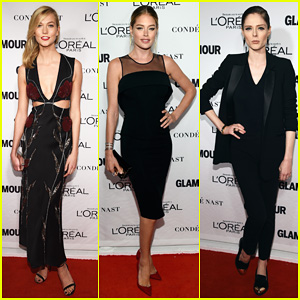 Models Karlie Kloss & Doutzen Kroes Spice Up the Glamour Women of the Year Awards 2014!