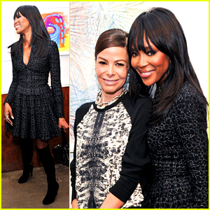 Naomi Campbell Goes from Birkin Auctions to Art Auctions!