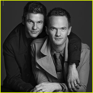 Neil Patrick Harris & David Burtka Do First Fashion Shoot Together For 'London Fog' Holiday Campaign
