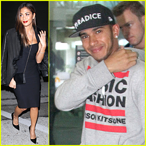 Nicole Scherzinger Dons a Sexy Black Dress For Craig's Dinner