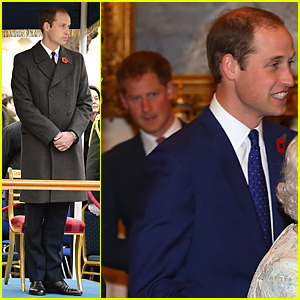 Princes William & Harry Look Dapper as Recovery Pathway Reception Hosts