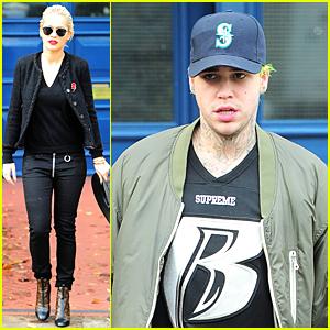 Rita Ora & Boyfriend Ricky Hilfiger Get Ready to Jet to Los Angeles