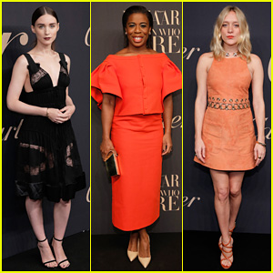 Rooney Mara & Uzo Aduba Help Celebrate Cartier's 100th Anniversary Of Their Emblem La Panthere De Cartier!