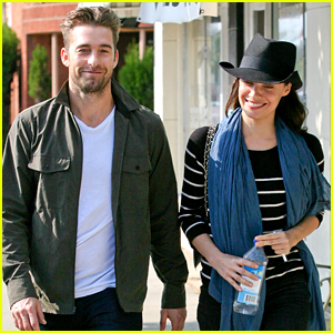 Scott Speedman & Camille De Pazzis Still Going Strong After Two Years!