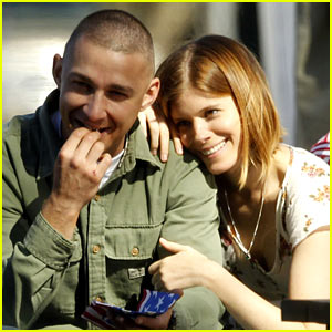 Shia LaBeouf & Kate Mara Get Cozy in First 'Man Down' Set Pics