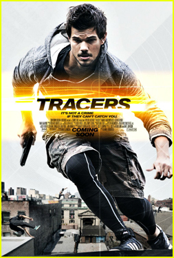 Taylor Lautner is Running For His Life in New 'Tracers' Poster