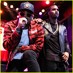 Tyga Was Late to His Own Tour Announcement with Chris Brown & Trey Songz After Getting Arrested