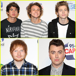 5 Seconds of Summer is One Man Down for London's Jingle Ball