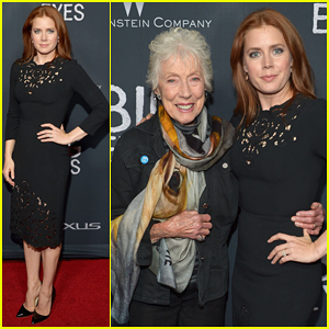 Amy Adams Meets Up with the Real Margaret Keane at 'Big Eyes' Special L.A Screening!