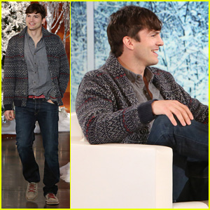 Ashton Kutcher Talks About Daughter Wyatt, Calls Mila Kunis the 'Greatest Mom' (Video)