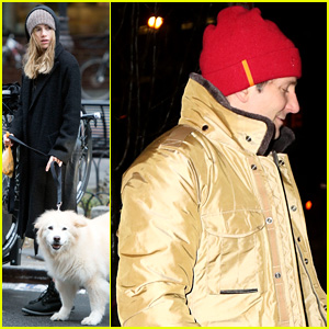 Bradley Cooper Heads Home After Jennifer Lawrence Checks Him Out in Broadway's 'The Elephant Man'