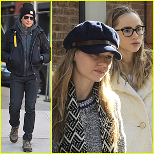 Bradley Cooper's Girlfriend Suki Waterhouse Looks Stylish in Eyeglasses