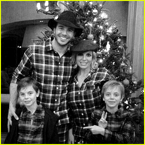 Britney Spears Spends Christmas with New Boyfriend Charlie Ebersol in Matching Pajamas!