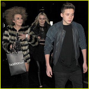 Brooklyn Beckham Hangs Out with Scottish Singer Tallia Storm After Minor Car Accident with Dad David
