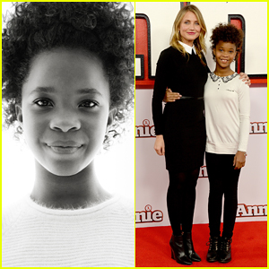 Cameron Diaz & Quvenzhane Wallis Bring 'Annie' to London with Jamie Foxx!
