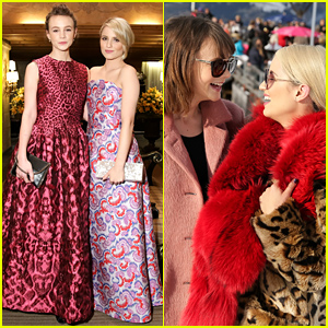 Carey Mulligan & Dianna Agron Look Like Total Besties at the ASmallWorld Weekend Event