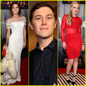 Cassadee Pope & Scotty McCreery Are Red Carpet Ready at the American Country Countdown Awards 2014!