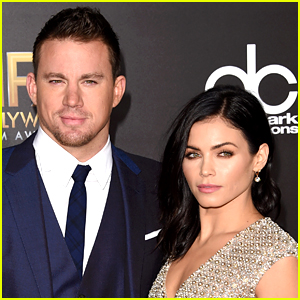 Channing Tatum Gets Pedicure with Jenna Dewan on Her 34th Birthday!