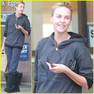 Charlize Theron Dresses Down for Quick Pharmacy Trip