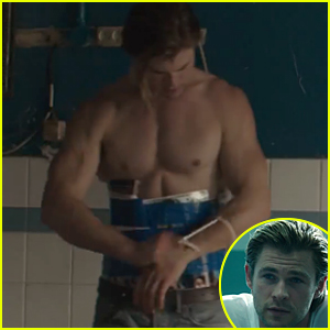 Chris Hemsworth Shows Off Shirtless Sexy Body in 'Blackhat' Trailer - Watch Now!