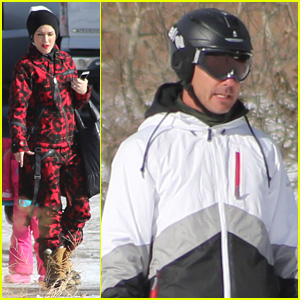 Gwen Stefani & Gavin Rossdale Hit the Slopes in Mammoth