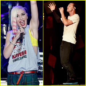 Gwen Stefani & Gavin Rossdale Rock Out at KROQ Almost Acoustic Christmas Concert 2014!