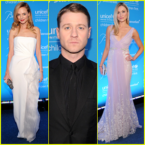 Heather Graham & Ben McKenzie Put On Their Best for Unicef Snowflake Ball 2014!