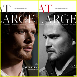 Unbroken's Jack O'Connell Talks All About Angelina Jolie & Brad Pitt in 'At Large' Magazine! (Exclusive)