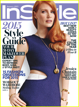 Jessica Chastain Explains How Brad Pitt Changed Her Career in 'InStyle'