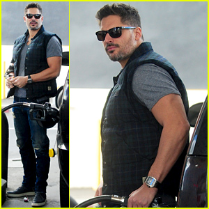 Joe Manganiello Couldn't Look Sexier Pumping His Gas