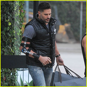 Joe Manganiello Gets Injured From Stripping, Sofia Vergara Says 'It's Dangerous'