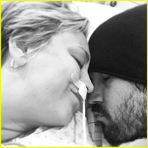 Kaley Cuoco Comes Out of Sinus Surgery With Husband Ryan Sweeting By Her Side