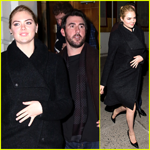 Kate Upton & Boyfriend Justin Verlander Brave the NYC Cold