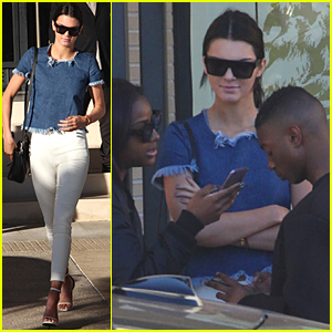 Kendall Jenner Knows How to Turn Heads on Post-Christmas Shopping Trip