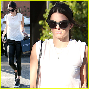 Kendall Jenner Steps Out After Topping Just Jared's Most Popular Models of 2014 List!