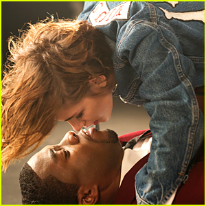 Kristen Stewart Attacks Chadwick Boseman For a Kiss - Watch Now!
