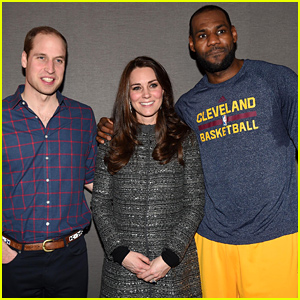LeBron James Put His Arm Around Kate Middleton During Their Meeting & Broke Royal Protocol