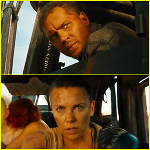 Charlize Theron & Tom Hardy Are All Action in 'Mad Max: Fury Road' Trailer - Watch Now!
