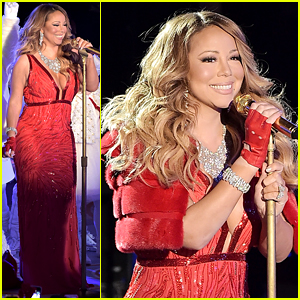 Mariah Carey Sings 'All I Want for Christmas Is You' Live at Rockefeller Center Tree Lighting! (Video)