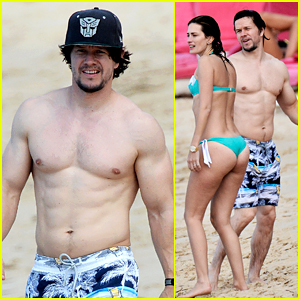 Mark Wahlberg Shows Off Ripped Shirtless Body in Barba