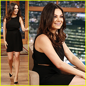 Mila Kunis Debuts Slimmed Down Post Baby Body on 'Ferguson'