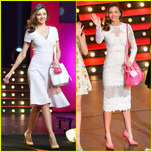 Miranda Kerr Hits the Runway for Samantha Thavasa's 20th Anniversary Party in Tokyo!